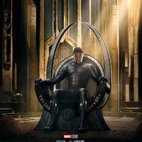 Íme Wakanda ura!: Black Panther-poszter
