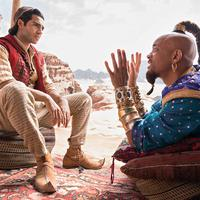 Marha furcsa a kék Will Smith: Aladdin-teaser