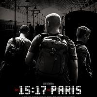 Igaz történet igaz hősökről: The 15:17 to Paris-poszter