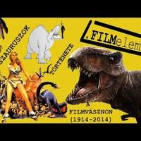 A dinoszauruszok 100 éves története a filmvásznon (1914-2014)