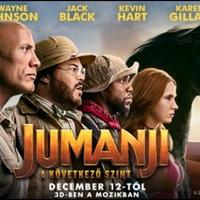 Jumanji - A következő szint, ideális film az ünnepekre [26.]