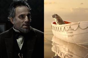 Lincoln és a Pi élete kapta a legtöbb jelölést idén! Meglepetések a 2013-as Oscar listán!