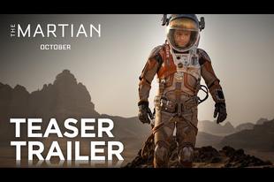 Nagyon impresszív a The Martian előzetese!