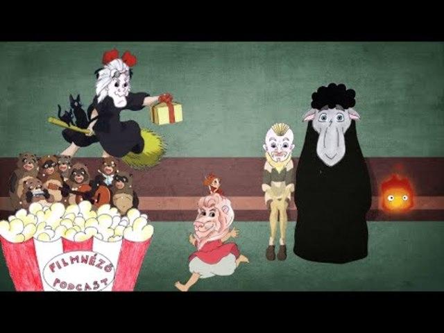 Filmnéző Podcast #41 (Ghibli filmek II.)