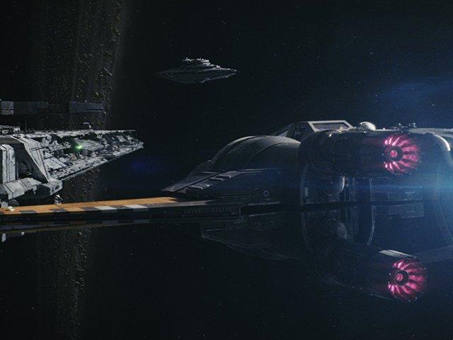 Az űrben is vetítik Az utolsó Jedi-t!