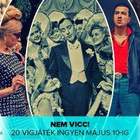 Klasszikus vígjátékok a magyar film napjára