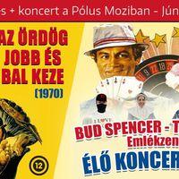 Bud Spencer emlékvetítés és koncert a Pólus Moziban – Nyerj rá jegyet!