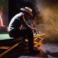 Osama bin Laden színpadi westernben