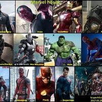 A Marvel és DC filmek világa