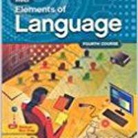 ?OFFLINE? Elements Of Language, 4th Course. Capital Letras Anuncios Modulo radio