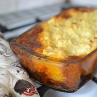 Vörösboros marharagu gombával és sült krumplipürével
