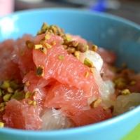 Grapefruit saláta reggelire