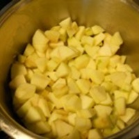 Mentás-lime-os almalekvár