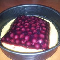 Cseresznyezselés-csokoládéhabos torta