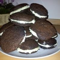 Marcipánkrémes csokitallér avagy cookie