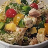 Csirkés saláta