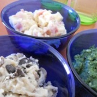 Vega krumpligombócok - gombás, spenótos, sajtos