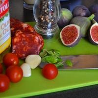 Salsiccia con fichi avagy a Fügés-chorizo-s tészta