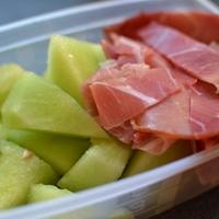 Reggeli az egészség jegyében - Sárgadinnye és pármai sonka