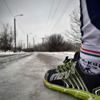 Reggeli futás télen