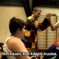 Finn iskolások Magyarországról