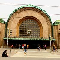Helsinki központi pályaudvara