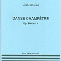 _IBOOK_ Jean Sibelius: Dance Champetre No.4 Op.106 No.4. hombre Railway Femenina forma legislar Compacto