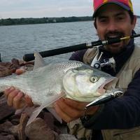 A láthatatlan pergető horgász