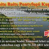 Rövid hír: MŰHOSZ infó és Dymanite Baits C.C.'07.