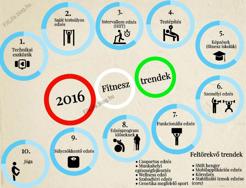Fitnessz trendek alakulása - Fitlife blog