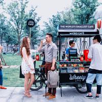 Kávébár biciklin – egy stockholmi startup felveszi a versenyt a Starbucks-szal