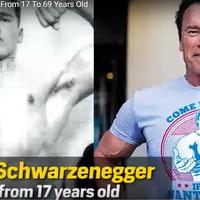 Arnold Schwarzenegger 52 éves életútja egyetlen videóban