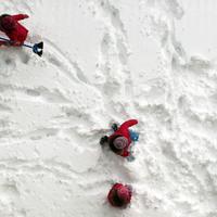Még sosem volt ilyen jó havat ásni! Hóásás egy autóért!