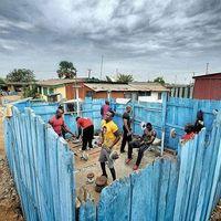 Így edzenek Afrikában