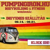 1 hétig ingyen szállítás a PumpingIron.hu-nál!