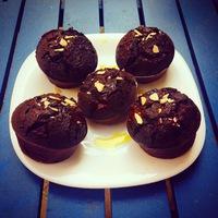 Glutén-, laktóz-, cukor- és lisztmentes muffin