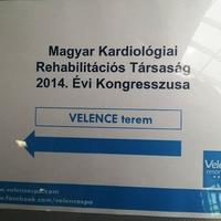 Előadásom a Kardiológiai Rehabilitációs Társaság Kongresszusán