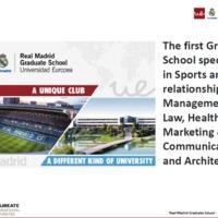 IWI és a Real Madrid Graduate School képzései