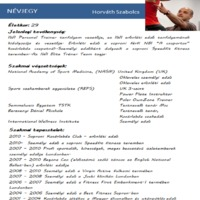 Horváth Szabolcs a személyi edző képzés vezetője - Interjú