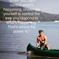 The only 2 things you can ever control is your attitude and your action. Ha nem működnek a dolgok körülötted, igazából két dolgon tudsz változtatni: a hozzáállásodon és a tetteiden.  #attitudematters