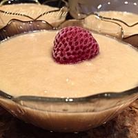 Vaníliás protein almakása