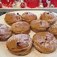Étcsokis Sütőtök fánk muffin formában