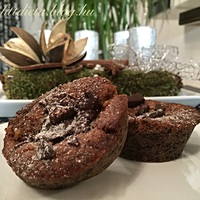 Zablisztes zserbó muffin