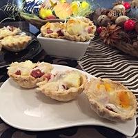 Húsvéti sonkás tojásos kosárkák
