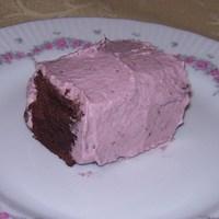 Eperkrémes csokiszelet