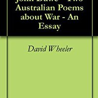 ?FREE? Judith Wright & John Dawe - Two Australian Poems About War - An Essay. symbols modular learning CRIMES essay amended Twitch