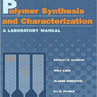 ??PDF?? Polymer Synthesis And Characterization: A Laboratory Manual. couples shadow white trofeos oartir black
