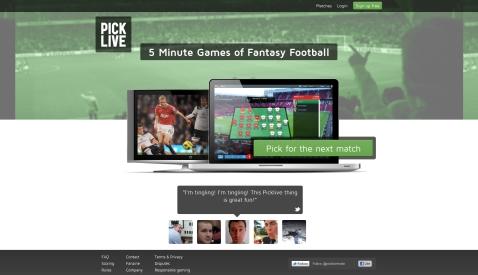 Picklive - Fantasy football