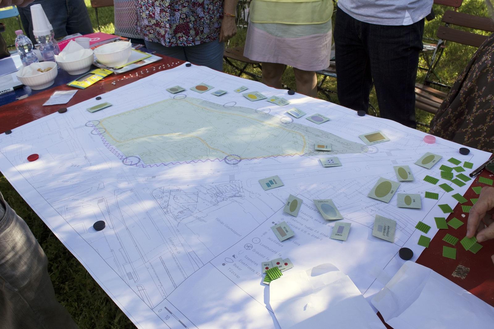 Közösségi tervezés - workshop