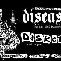 Márciusban Auróra - Disease és Diskobra